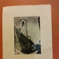 Coleccionismo: XXVIII MISSA DEL GALL. TORRE DE CLARAMUNT, NADAL 1978. CLUB DE NATACIÓ IGUALADA. DÍPTICO. Lote 226592820