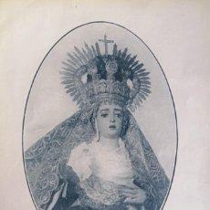 Coleccionismo: SEVILLA SEMANA SANTA, ANTIGUA VIRGEN DE LA CONCEPCIÓN Y SEÑOR DEL GRAN PODER. Lote 226593934