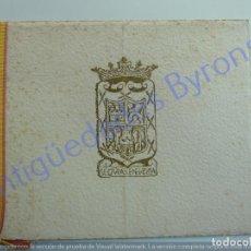 Coleccionismo: CENA DE GALA Y MÍNUTA. VISITA DE FRANCO A LAS PALMAS. 26 DE OCTUBRE DE 1950. Lote 227550970