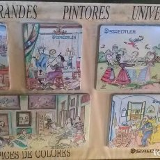 Coleccionismo: PILARIN BAYES, GRANDES PINTORES, STAEDTLER. Lote 229056955