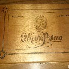 Coleccionismo: CAJA DE PUROS MONTEPALMA CORONAS 25 UD. PRECINTADA. Lote 222360676
