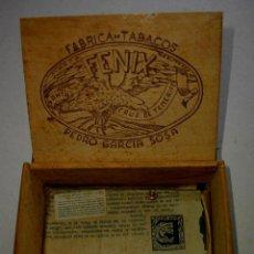 Coleccionismo: CAJA DE PUROS CANARIOS - TENERIFE ( EL FENIX) DE LAS UNICAS QUE EXISTEN. Lote 229767470