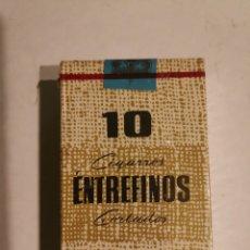 Collezionismo: LOTE 5 PAQUETES CIGARROS ENTREFINOS. Lote 229882975
