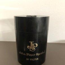 Coleccionismo: BOTE CIGARRILLOS JOHN PLAYER SPECIAL 50 FILTER. PLASTICO. - AÑOS 70. Lote 230518935