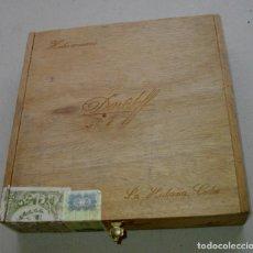 Coleccionismo: CAJA DE PUROS HABANOS- CUBA DAVIDOFF Nº 1 ( 25 DAVIDOFF) VACIA / COLC. Lote 230976450
