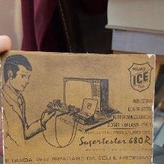 Coleccionismo: LIBRITO DE INFORMACION DE SUPERTESTER 680R EN ITALIANO. Lote 231073355