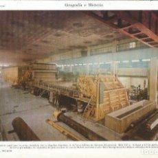 Collectionnisme: LAMINA ESPASA 35810: INTERIOR DE LA PAPELERA INDUSTRIAL SA EN RENTERIA, GUIPUZCOA. Lote 231539965