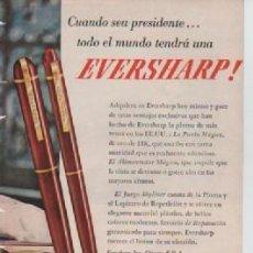 Coleccionismo: ANUNCIO PUBLICIDAD ESTILOGRAFICAS EVERSHARP - WHISKEY FOUR ROSES. Lote 231722745