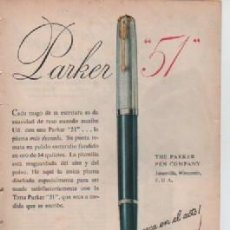 Coleccionismo: ANUNCIO PUBLICIDAD ESTILOGRAFICAS PARKER - POLVOS ROYAL. Lote 231722900