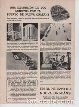 Coleccionismo: ANUNCIO PUBLICIDAD ESTILOGRAFICAS EVERSHARP - PUERTO NUEVA ORLEANS - Foto 2 - 231722925
