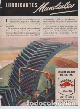 Coleccionismo: ANUNCIO PUBLICIDAD ESTILOGRAFICAS EVERSHARP - LUBRICANTES GARGOYLE - Foto 2 - 231747500