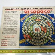 Coleccionismo: ANTIGUO JUEGO CARRERAS CON OBSTACULOS PUBLICIDAD BAYER ORIGINAL ART-DECO AÑOS 20. Lote 231774065
