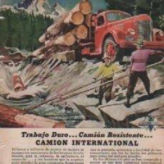 Coleccionismo: ANUNCIO PUBLICIDAD CAMIONES INTERNATIONAL HARVESTER- ESTILOGRAFICAS EVERSHARP. Lote 231826970