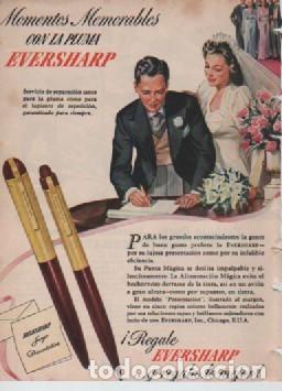 Coleccionismo: ANUNCIO PUBLICIDAD CAMIONES INTERNATIONAL HARVESTER- ESTILOGRAFICAS EVERSHARP - Foto 2 - 231826970