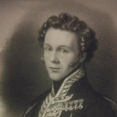 Coleccionismo: GENERAL TORRIJOS LIBERAL XIX GRABADO 1820 FERNANDO VII RETRATO. Lote 232559713