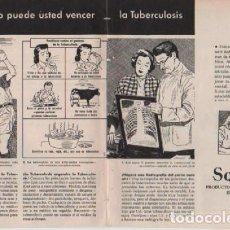 Colecionismo: ANUNCIO PUBLICIDAD LABORATORIOS SQUIBB-REFRESCO CANADA DRY-ESTILOGRAFICAS SHEAFFERS. Lote 232941945