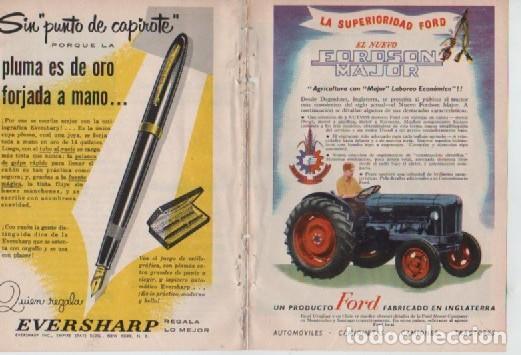 Coleccionismo: ANUNCIO PUBLICIDAD AEROLINEAS PANAGRA PAA-TRACTORES FORD-ESTILOGRAFICA EVERSHARP - Foto 2 - 232942310