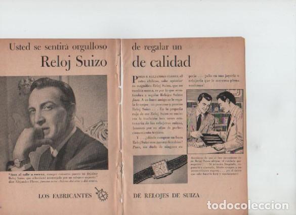 ANUNCIO PUBLICIDAD RELOJES SUIZA-ESTILOGRAFICA EVERSHARP (Coleccionismo - Laminas, Programas y Otros Documentos)