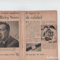 Coleccionismo: ANUNCIO PUBLICIDAD RELOJES SUIZA-ESTILOGRAFICA EVERSHARP. Lote 233391835