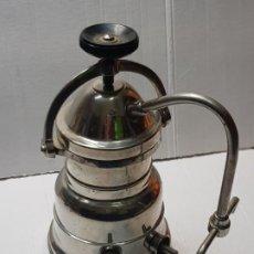 Collectionnisme: CAFETERA ANTIGUA ELÉCTRICA 2 BRAZOS ACERO INOXIDABLE. Lote 233728400