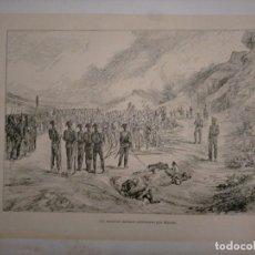 Coleccionismo: CATALUÑA GUERRA DE LA INDEPENDENCIA UN BATALLON ITALIANO PRISIONERO POR MANSO. Lote 234317760