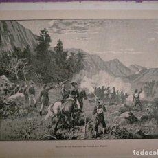 Coleccionismo: CATALUÑA GUERRA DE LA INDEPENDENCIA BARCELONA DERROTA DE LOS FRANCESES EN PALLEJA POR MANSO. Lote 234318580