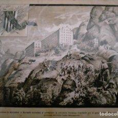 Coleccionismo: CATALUÑA GUERRA DE LA INDEPENDENCIA MONTSERRAT LOS SOMATENES DE MONISTROL Y BORRADA MOLESTAN Y PERSI. Lote 234320890