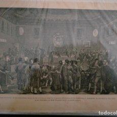 Coleccionismo: CATALUÑA GUERRA DE LA INDEPENDENCIA ACTITUD HEROICA DE LAS AUTORIDADES LEALES DE BARCELONA AL EXIGIR. Lote 234321355
