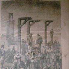 Coleccionismo: CATALUÑA GUERRA DE LA INDEPENDENCIA PUEBLO BARCELONES LOS PATRICIOS QUE HABIAN TOCADO A SOTOMATEN CU. Lote 234324925
