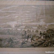 Coleccionismo: GUERRA DE LA INDEPENDENCIA DE CATALUÑA GERONA ENTRADA DE LOS FRANCESES EN PALAMOS. Lote 234334910