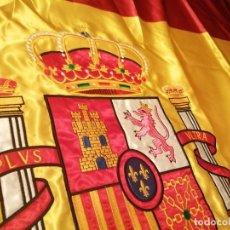 Coleccionismo: BANDERA DE ESPAÑA BORDADA. Lote 234401160