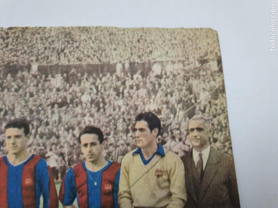 Coleccionismo: LAMINA F.C.BARCELONA ( AÑOS 50 ) CHOCOLATES BATANGA ( FUTBOL ) VER FOTOS - Foto 6 - 234912375