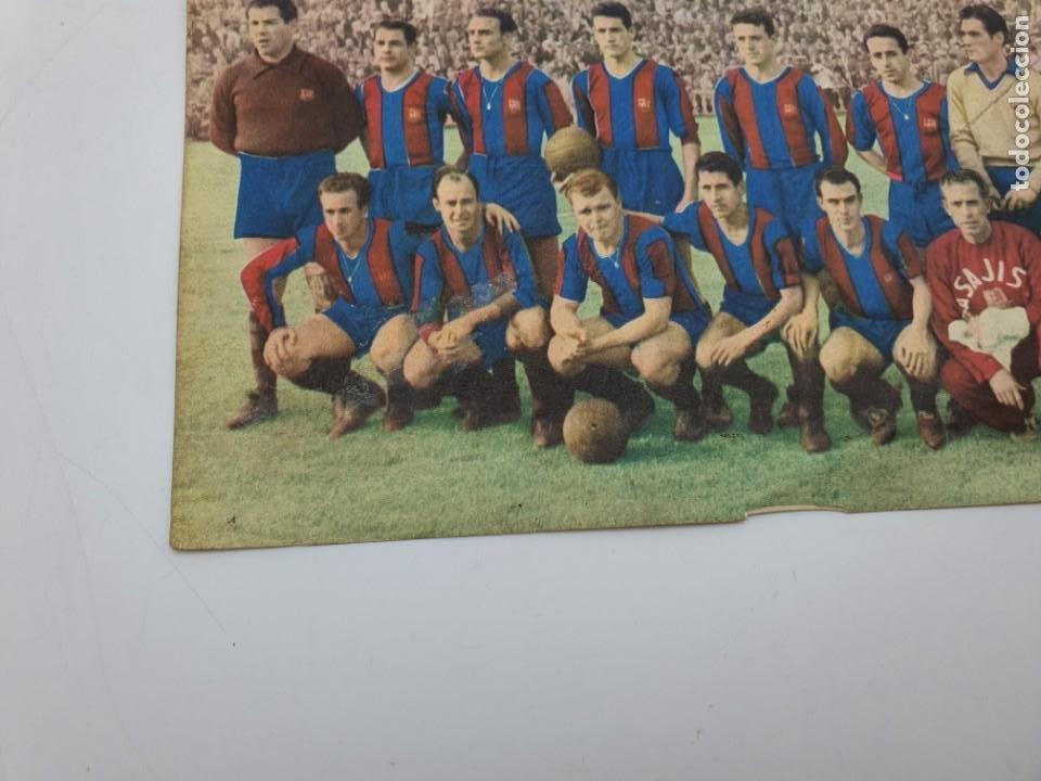 Coleccionismo: LAMINA F.C.BARCELONA ( AÑOS 50 ) CHOCOLATES BATANGA ( FUTBOL ) VER FOTOS - Foto 7 - 234912375