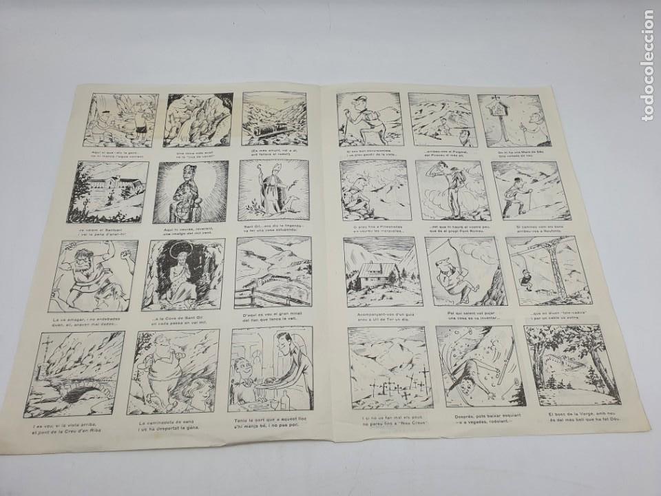 Coleccionismo: LOTE AUCAS, GOIGS, ETC, RELACIONADAS CON EL SANTUARIO DE NURIA ( VER FOTOS ) - Foto 5 - 234916050