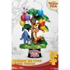 Coleccionismo: DISNEY DIORAMA PVC D-STAGE WINNIE THE POOH WITH FRIENDS 16 CM. Lote 235232130