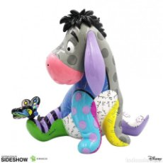 Coleccionismo: DISNEY BY BRITTO ESTATUA EEYORE 25 CM WINNIE THE POOH. Lote 235232825