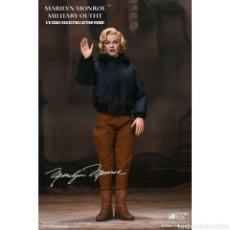 Coleccionismo: MARILYN MONROE FIGURA MY FAVOURITE LEGEND 1/6 MILITARY OUTFIT 29 CM. Lote 235514630