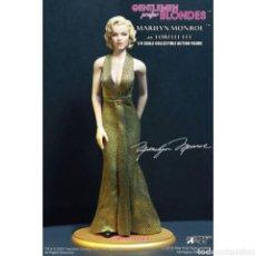 Coleccionismo: LOS CABALLEROS LAS PREFIEREN RUBIAS FIGURA MY FAVOURITE LEGEND 1/6 MARILYN MONROE GOLD VER. 29. Lote 235515295