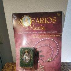 Coleccionismo: ROSARIO BEATA MARÍA VIRGO DE KNOCK REGINA IRLANDAE COLECCIONES SALVAT. Lote 235645270