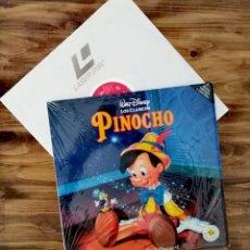 """Coleccionismo: LASER DISC PINOCHO. DISNEY PELÍCULA VÍDEO NO DVD TAMAÑO 12"""". Lote 235850125"""