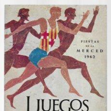 Coleccionismo: I JUEGOS DEPORTIVOS DE BARCELONA. SEPTIEMBRE-OCTUBRE 1962. Lote 236219340