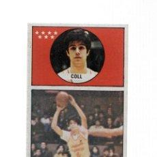Coleccionismo: CROMO: BALONCESTO 1986-1987: NUMERO 075: COLL DEL ESTUDIANTES. Lote 236221405