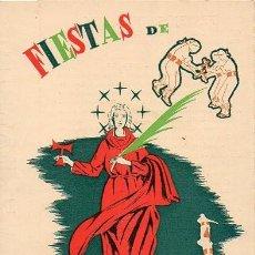 Coleccionismo: TARRAGONA - PROGRAMA FIESTAS SANTA TECLA - 1959. Lote 236488845