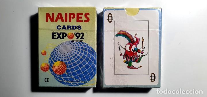 BARAJA DE CARTAS NAIPES EXPO 92 SEVILLA 1992 (Coleccionismo - Varios)