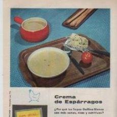 Coleccionismo: ANUNCIO PUBLICIDAD SOPAS AVECREM-NEVERAS WESTINGHOUSE. Lote 236790875
