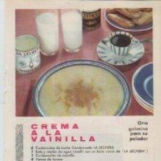 Coleccionismo: ANUNCIO PUBLICIDAD LECHE CONDENSADA LA LECHERA-LOCION VARON DANDY. Lote 236791005