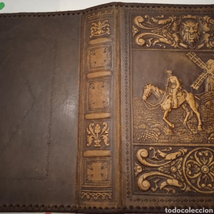 Coleccionismo: TAPAS DE CUERO EL QUIJOTE - Foto 3 - 237022450