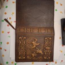Coleccionismo: TAPAS DE CUERO EL QUIJOTE. Lote 237022450
