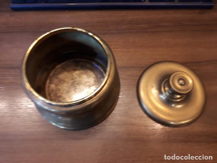 Coleccionismo: Interesante tabaquera, purera en latón. Vintage. - Foto 9 - 237162040