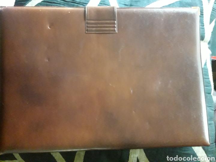 Coleccionismo: Carpeta de piel, portadocumentos, Estado Mayor de la Defensa - Foto 2 - 237314150